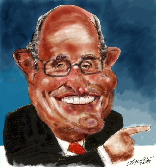 Rudy Giuliani by daulle
